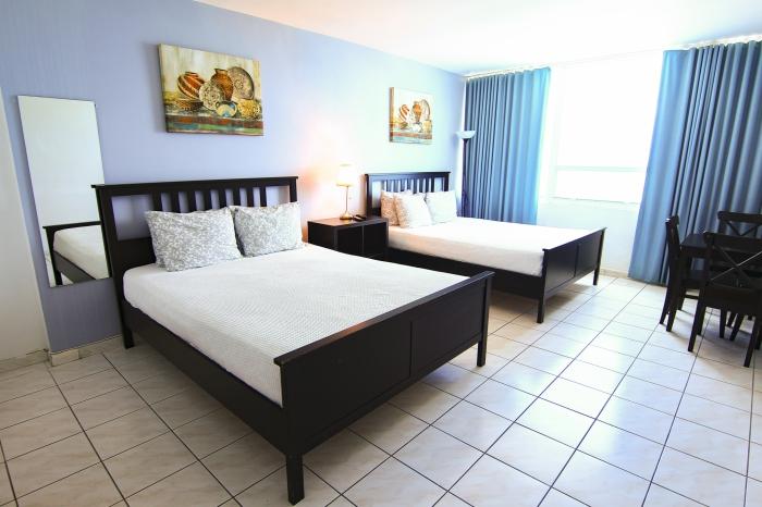 Miami Beach Vacation Studio With Beach Access Bay Views